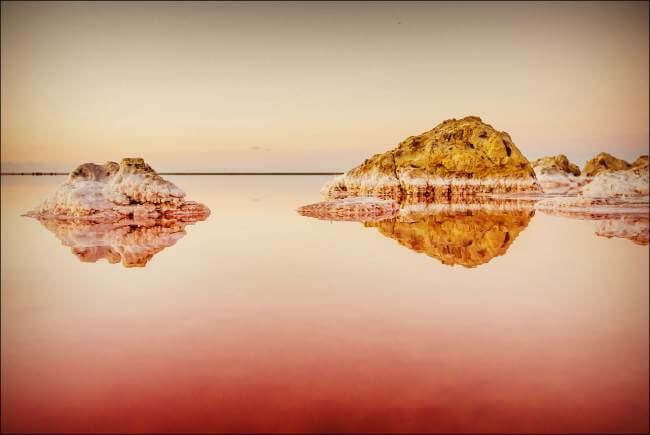 Кояшское солёное озеро