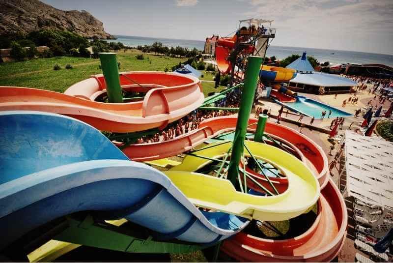 Аквапарк «Водный мир» в Судаке