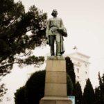 Памятник Горькому в Ялте