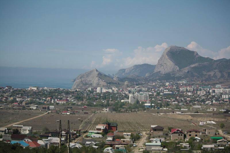 Курортный город Судак