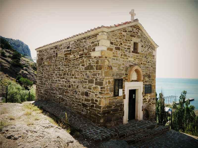Храм 12-ти апостолов в Судаке