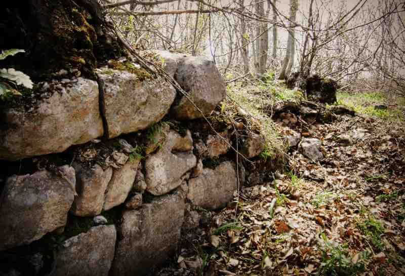 Руины Храма Спасителя на горе Бойко
