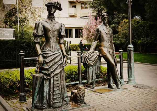 Открытие памятника Чехова и дамы с собачкой