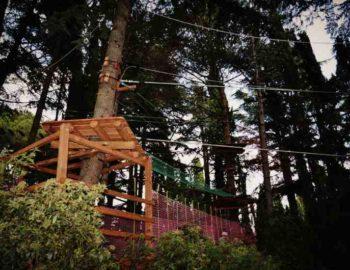 Верёвочный парк для детей