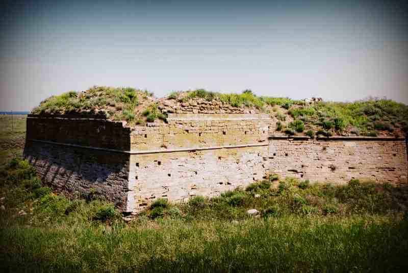 История Арабатской крепости
