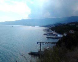 Пляж бывшего санатория «Черноморский»