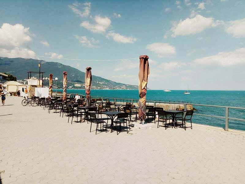 Летние кафе на пляже