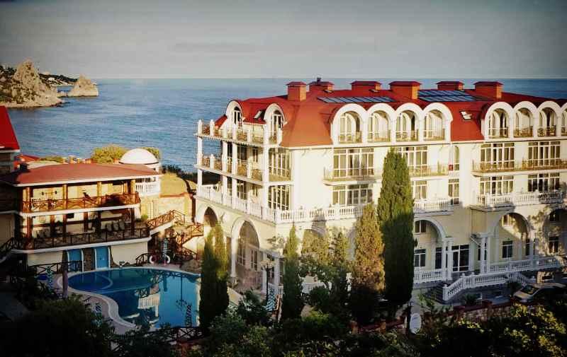 """Отель """"Александрия"""" в Кацивели"""