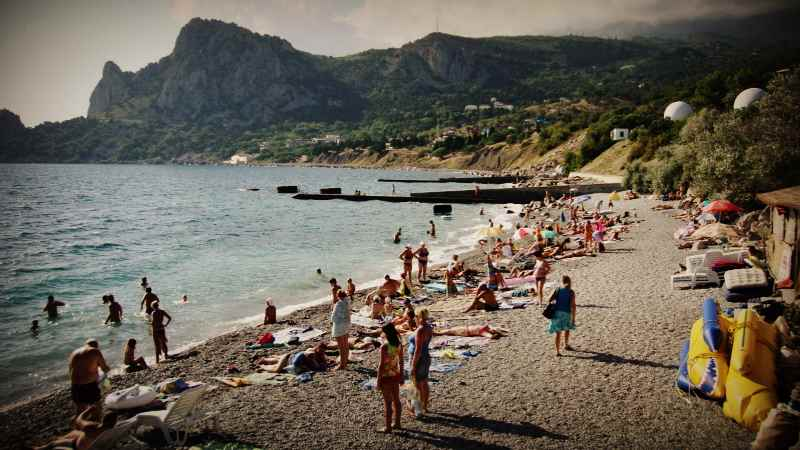 Пляжи посёлка Кацивели