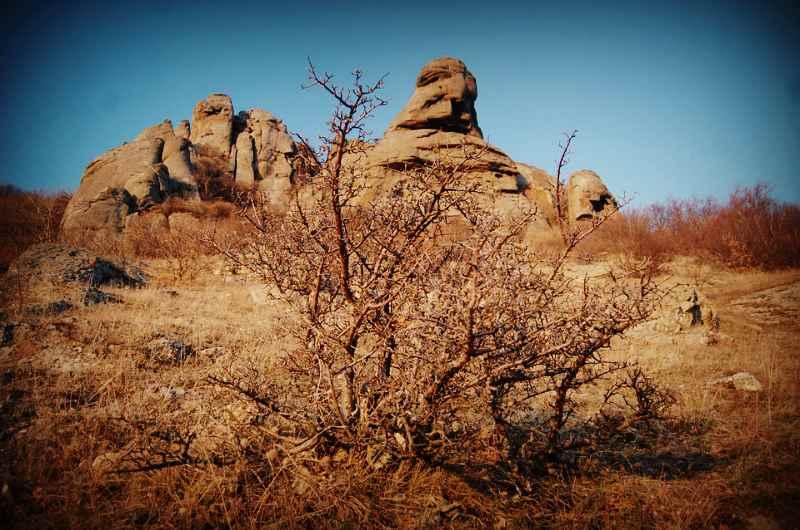 Долина Приведений (Демерджи) - голова Екатерины