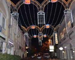 Улица Морская выходит на набережную Ялты