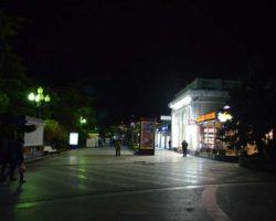 Ночь на набережной Ялты