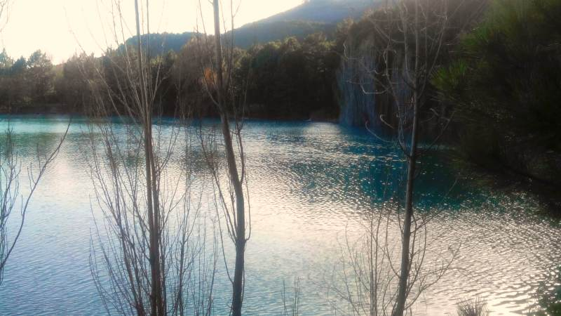 Туристический отдых на озере