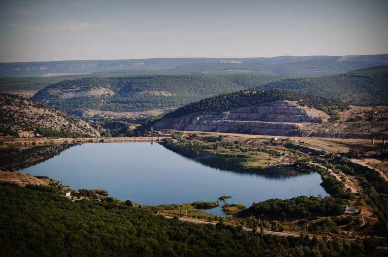 Гора Гасфорта - 17 километр трассы Ялта