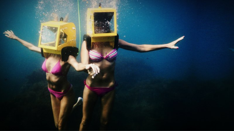 Helmet Diving в Крыму
