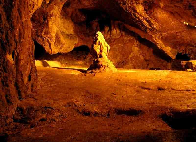 Красная пещера - залы