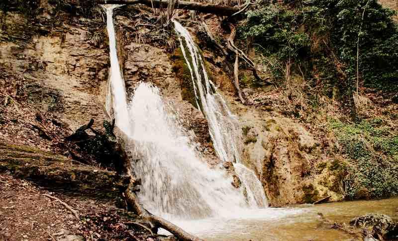 Водопад Гейзер - на реке Алака