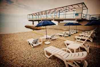 Оборудованный пляж Актёра