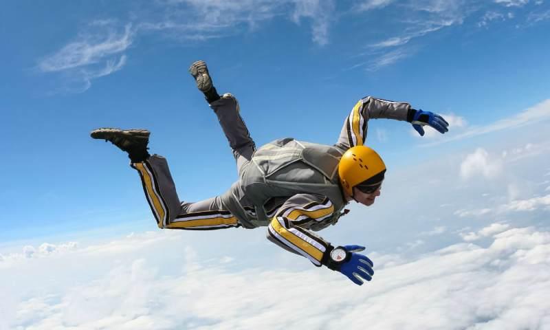 Прыжки с парашютом - свободное падение