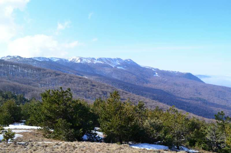 Вид Крымских гор