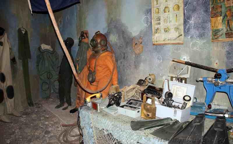Музей катастроф на воде - экспонаты