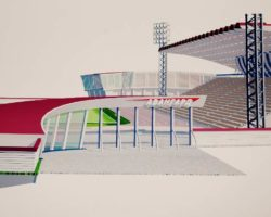 Новый проект стадиона Авангард в Ялте