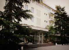 Центральный корпус санатория Черноморье