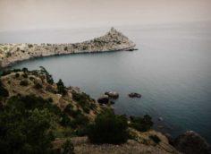 Мыс Капчик в Крыму