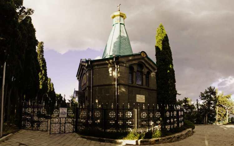 Церковь Александра Невского - Утёс ,Алушта