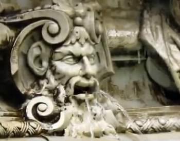 """Фрагмент фонтана """"Ночь"""""""