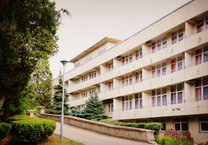 Спальный корпус Ялтинского городского пансионата
