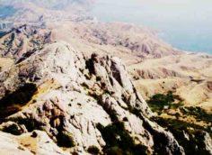 Гора Эчки-Даг в Крыму