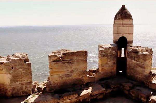 Защита крепости с моря