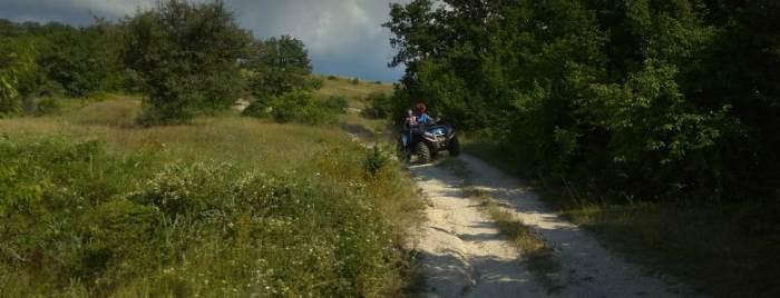 Экскурсии на квадроциклах в Крыму