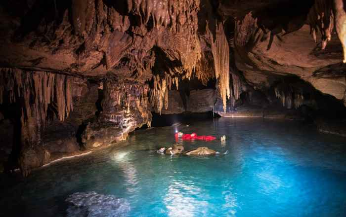 Спелеотур по Красной пещере