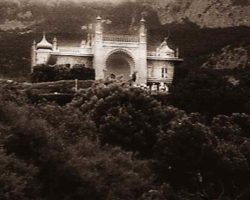 Воронцовский дворец - старое фото