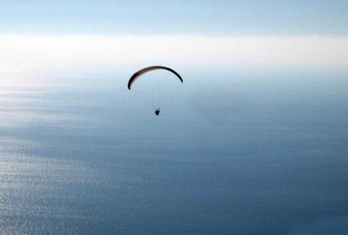 Полёт над морем