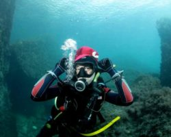 Погружение с аквалангом