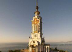 Храм-маяк Николая Чудотворца в Крыму