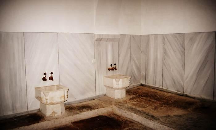 Баня Сары-Гюзель - помещение внутри