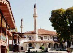 Вид ханского дворца в Бахчисарае