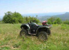 Квадротур по крымским горам